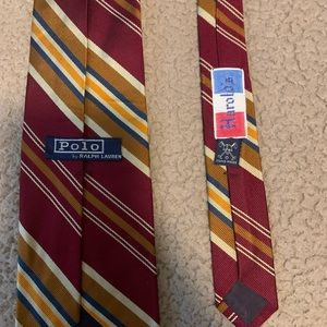 Mens Ralph Lauren Tie (Stripes)